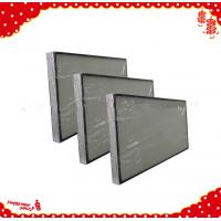 China 1220x610x90mm fan filter unit minipleat hepa air cleaner h13 h14 wholesale