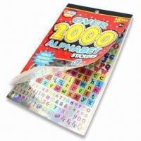 China Children's Scrapbook Set with Printed Pattern Paper and 2 Sheets of Stickers wholesale
