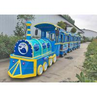 China Advanced Mall Motorized Amusement Train Rides With 12 Months Warranty wholesale