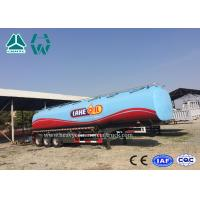 China 3 Axles Fuel Tanker Semitrailer For Fuel Transport 30,000 liters to 60,000 liters wholesale