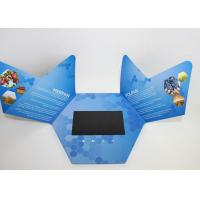 China Rechargeable Video In Print Brochure , custom lcd video brochure card for promotion wholesale