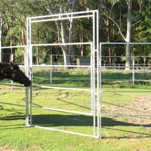 China New style 1.8x 2.1m High quality cheap livestock portable horse yard panels wholesale