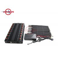 China Full Frequency GPS Signal Jammer 42W Adjustable Working Range Friendly Use on sale