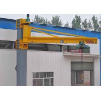 China Movable Wall Mounted Jib Crane With Hoist Remote Control 3 Phase 380V 50hz wholesale