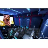 China Blue Color 5D Cinema Equipment, Indoor / Outdoor Playground Equipment wholesale