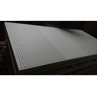China Perforated gypsum board  ISO,ASTM,AS/NZS2588, SONCAP wholesale