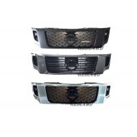 China ABS Plastic Chrome Grille Guard Front , Custom Mesh Grills For Nissan Navara NP300 wholesale