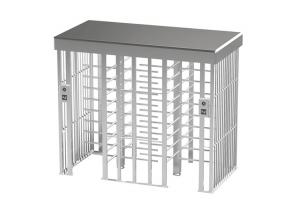 China Automatic Security Double passage Entrance Electronic Fingerprint Full Height Turnstile gate on sale
