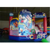 China Disney Giant Indoor Inflatable Bouncer Combo For Rental Durable 5 In 1 wholesale