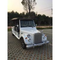 China White Vintage Touring Car 48V Motor Glass Reinforced Plastics 8-10 H Charging  Time wholesale