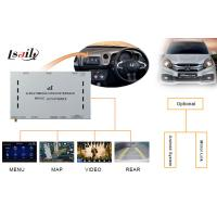 China Honda Decoder / Honda Video Interface for City Left - Hand with Touch Navigation , Rear View wholesale