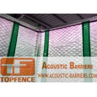 China Temporary Sound Barriers Fence 40dB noise Industrial Acoustic Curtains Waterproof Acoustic Sound Barrier wholesale