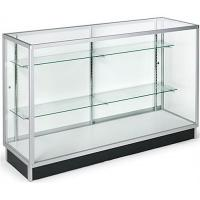 China Horizontal Wide Cell Phone Display Cabinet With Recessed Kickplate wholesale