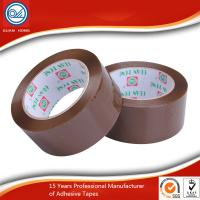 Quality Yellowish Water Based Acrylic Adhesive BOPP Packaging Tape for Office / Workshop for sale