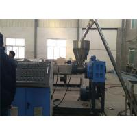 Quality PE Plastic Board Making Machinery , PE Wood Plastic Board Extrusion Line For Sheet Board for sale