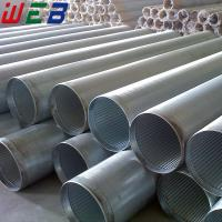China Stainless Steel Wedge Wire Filter Pipe Screen (ISO9001:2008 Factory) wholesale