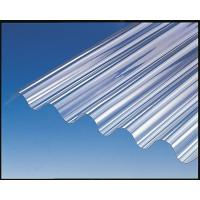 China Bayer / GE Polycarbonate Sheet , Corrugated Greenhouse Panels High Strength wholesale