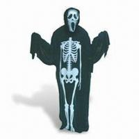 China Ghost Costume with 2 Pieces Mask Set, Adults or Children Sizes are Available wholesale