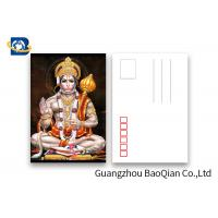China 5D Effect Indian God 3D Lenticular Postcards For Souvenirs/ Promotional Gift wholesale