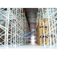 China Powder Coating Pallet Rack Shelving , Industrial Pallet Racks Heavy Duty For Singler Layer Stores wholesale