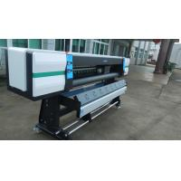 Buy cheap 1.8m High Speed Eco Solvent Printer with 4pcs Epson XP600 DX6 Heads Over 70m²/h from wholesalers