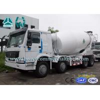 China Diesel Engine Truck Mounted Concrete Mixers For Construction Site 20 Ton - 60 Ton on sale