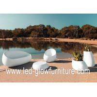 China Environment friendly glowing illuminated outdoor furniture lights , led couch / chair wholesale