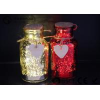 Glass Jar Wine Bottle Led Lights For Home / Party / Events WB-019