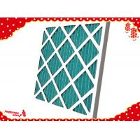 China (air filter made in China) cardboard dispoable panel minipleat filter g4 wholesale
