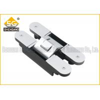 China 180 Degree 160*28*28*32mm Zinc alloy Adjustable Invisible Door Hinges wholesale