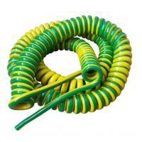 China Unshielded Spring Coiled Electrical Cable , 2 Core / 4 Core Curly Power Cord wholesale