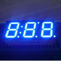 """China Common anode Ultra blue 0.39"""" Triple Digit Seven Segment LED Display home appliances wholesale"""