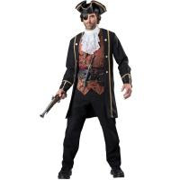 2016 costumes wholesale high quality fancy dress carnival sexy costumes for halloween party Pirate Captain