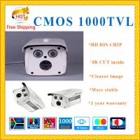 "China DAHUA 1/3"" CMOS 1000TVL cctv system ARRAY metal bullet camera IR-CUT security Camera weatherproof security Camera wholesale"