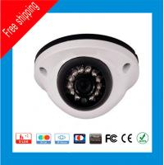 China DAHUA Solution 1Megapixel 10m IR distance 3.6/6mm lens 720P HD-CVI IR vandal proof Dome Camera 12 LED wholesale