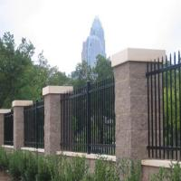 China Wholesale & Low Price Black Powder Painted Steel Used Aluminum Fence, Metal Sheet Fence from China wholesale