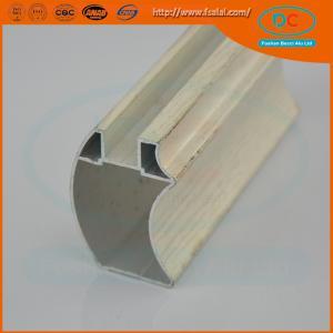 China Customed  Matt aluminum wardrobe profile, wardrobe profile,SS brush aluminum profile wholesale
