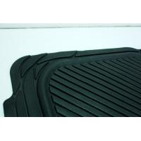 China Tailored Black Anti Slip Rubber car Mat Washable Ribbed Rubber Matting wholesale
