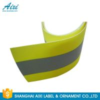 Buy cheap PVC Clear 2*1CM Elastic Reflective Clothing Tape Reflective Fabric from wholesalers