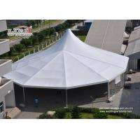 China 30m Ridge White High Peak Frame Tent Aluminum Structure Heavy Duty wholesale