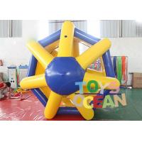 China Giant Human Hamster Inflatable Water Toys Roller Wheel For Outdoor Water Activity wholesale