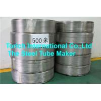 China Coiled Seamless Steel Tube D4 / T3 Bright Annealed Stainless Steel Material wholesale