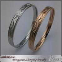 Buy cheap Stainless steel fashion women's bangle from wholesalers