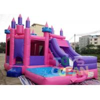 China Colourful Inflatable Bouncer Jumping Funny Castle Combo For Kids Amusement wholesale
