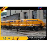 China Cement Concrete Pump 6 Tons Weight , Electric Power Machine 1840mm Wheel Span wholesale
