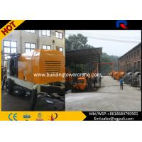 China High Efficient 80M3/h Diesel Concrete Pump PLC Electric Control HBT80 wholesale