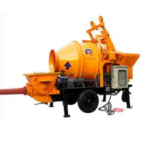 China Pully JBT40-P1 concrete mixer price in Sri Lanka / large capacity concrete mixer pump wholesale