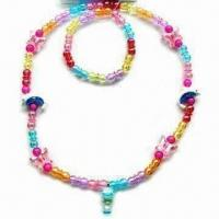 China Children's Jewelry Set, Various Attractive Models are Available, Customized Designs are Welcome wholesale