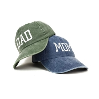 China OEM Blue Denim Fabric Dad'S Cap For Husband Wife wholesale