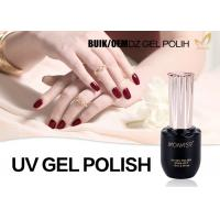 China Odorlessness Uv Cured Gel Nail Polish Nail Varnish Gel Superior Performance wholesale